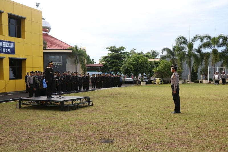 Upacara Kesaktian Pancasila Polda Bengkulu