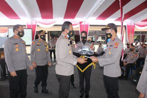 Wakapolda Bengkulu Ingatkan Untuk Disiplin Prokes Saat PAM Pilkada
