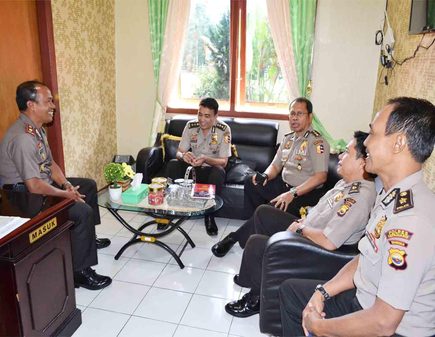 Tim Divisi Humas Polri  Kunjungi Dapur Redaksi Humas Polres Kepahiang