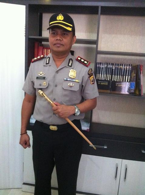 Saber Pungli : Tarik Dana Prona, Kades Di Tangkap Polisi