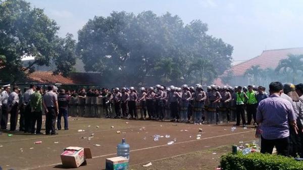 Kebakaran Lapas Banceuy Polisi Bertindak cepat