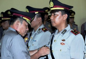 Tiga Pejabat Polres Berganti