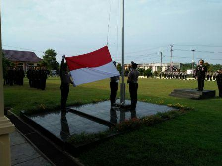 Upacara Hari Ulang Tahun Kemerdekaan Republik Indonesia Ke-72