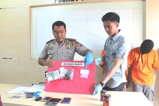 2 Pelaku Narkoba Kembali di Tangkap Polres Bengkulu