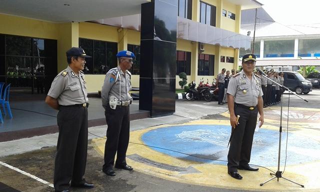 Evakuasi Tahanan Rutan Malabero Lancar, Kapolres Ucapkan Terima Kasih