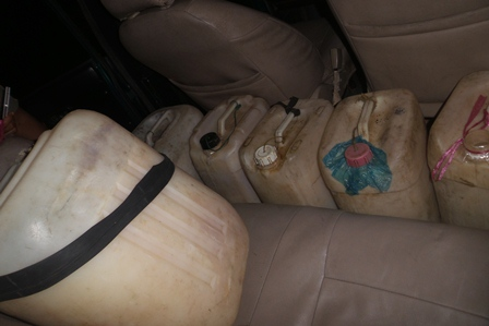 Ratusan Liter Tuak Diamankan