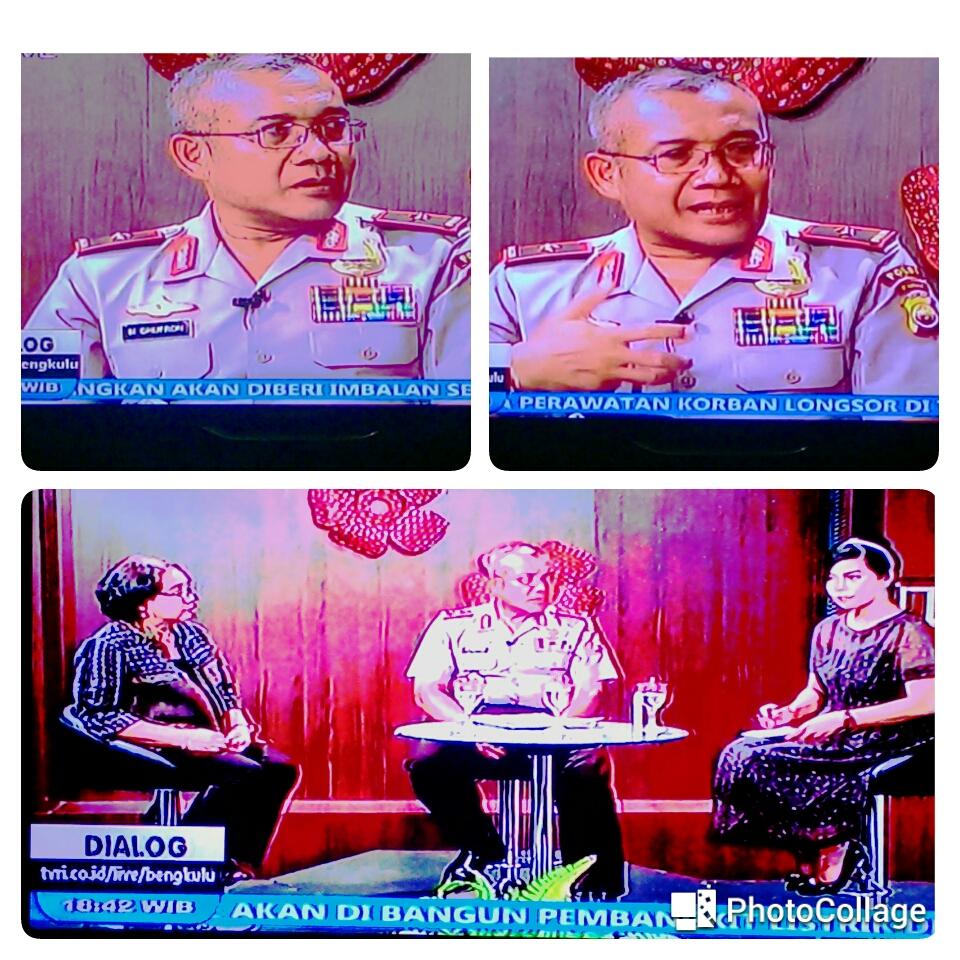 Dialog Live Kapolda Di TVRI