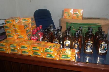Razia Bulan Puasa, Ribuan Obat Batuk Cair Disita