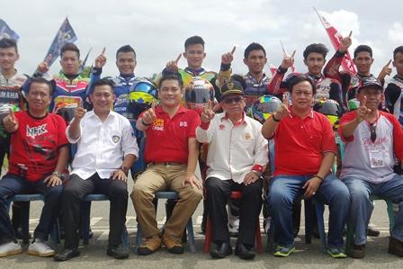 Kapolres Buka Kejurnas MotorPrix Putaran Final Region Sumatera