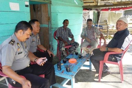 Beghusiak Kamtibmas, Anggota Polres Datangi Kelurahan Pasar Bawah