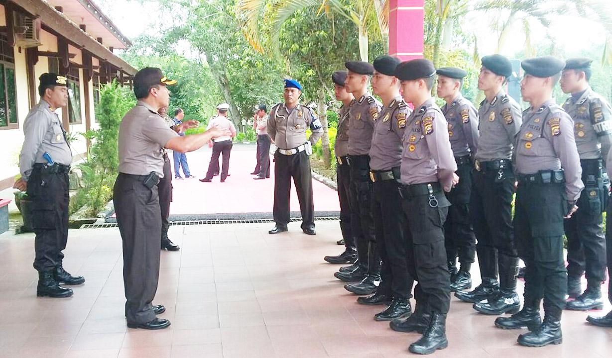 Wakapolres Kepahiang Berikan Arahan dan Motivasi Kepada Personil  Patroli Sat Sabhara