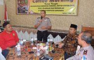 Tingkatkan Sinergitas CJS, Polres Kepahiang Gelar Coffee Morning