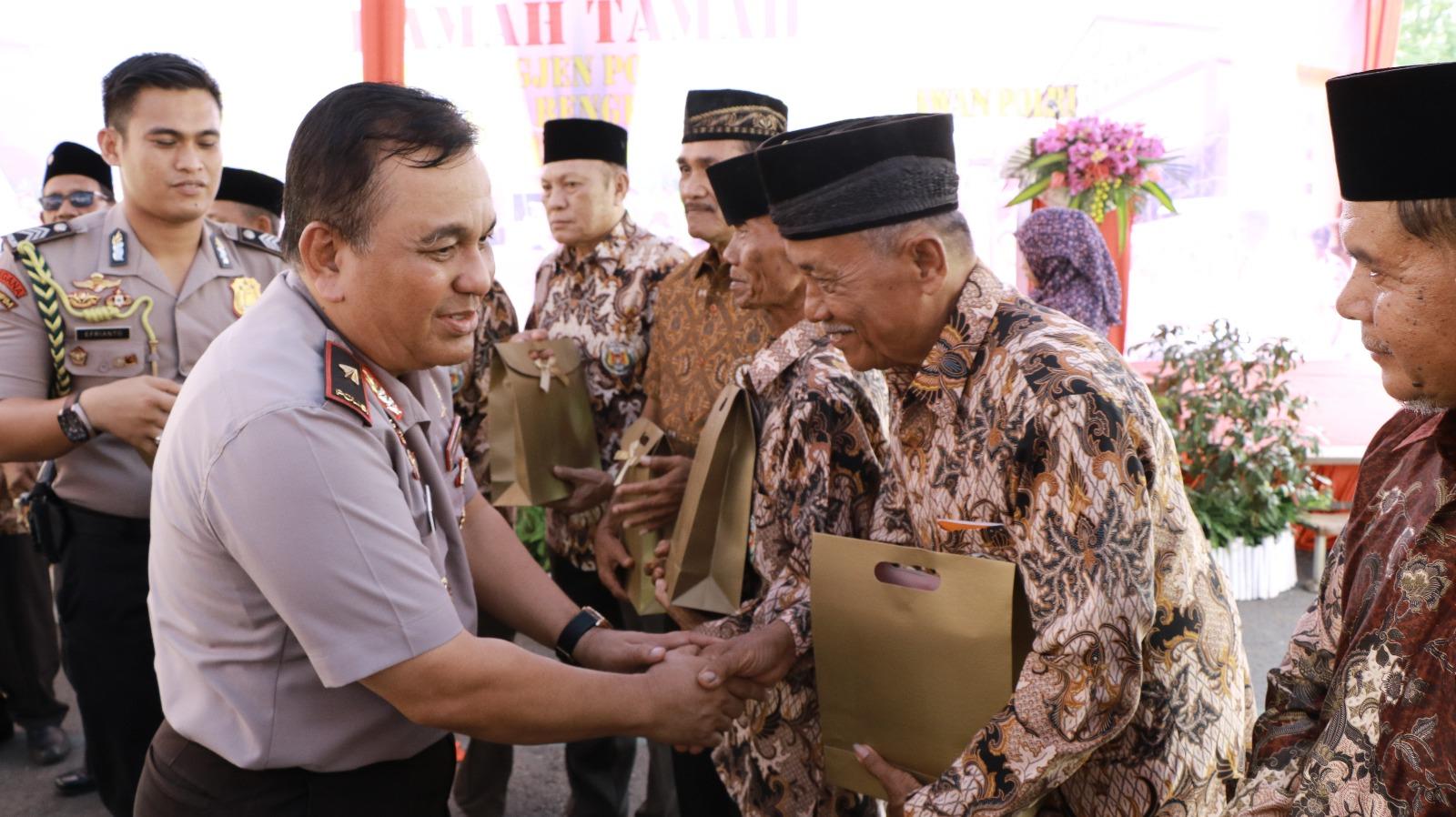 Kapolda Sapa Purnawirawan Polri dan KBPPP