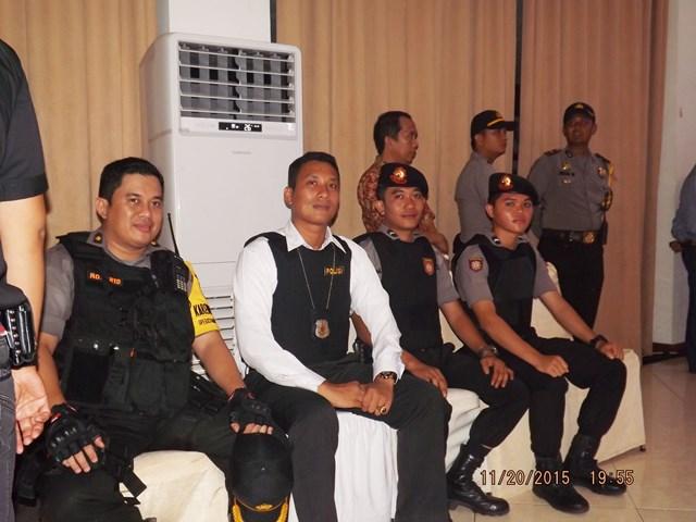 Pengamanan Debat Kandidat Pemilihan Gubernur