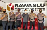 6 Bulan Bersama, Ketua Bawaslu Provinsi Bengkulu Sampaikan Ucapan Terima Kasih Kepada Anggota Polri yang Terlibat Pamkat