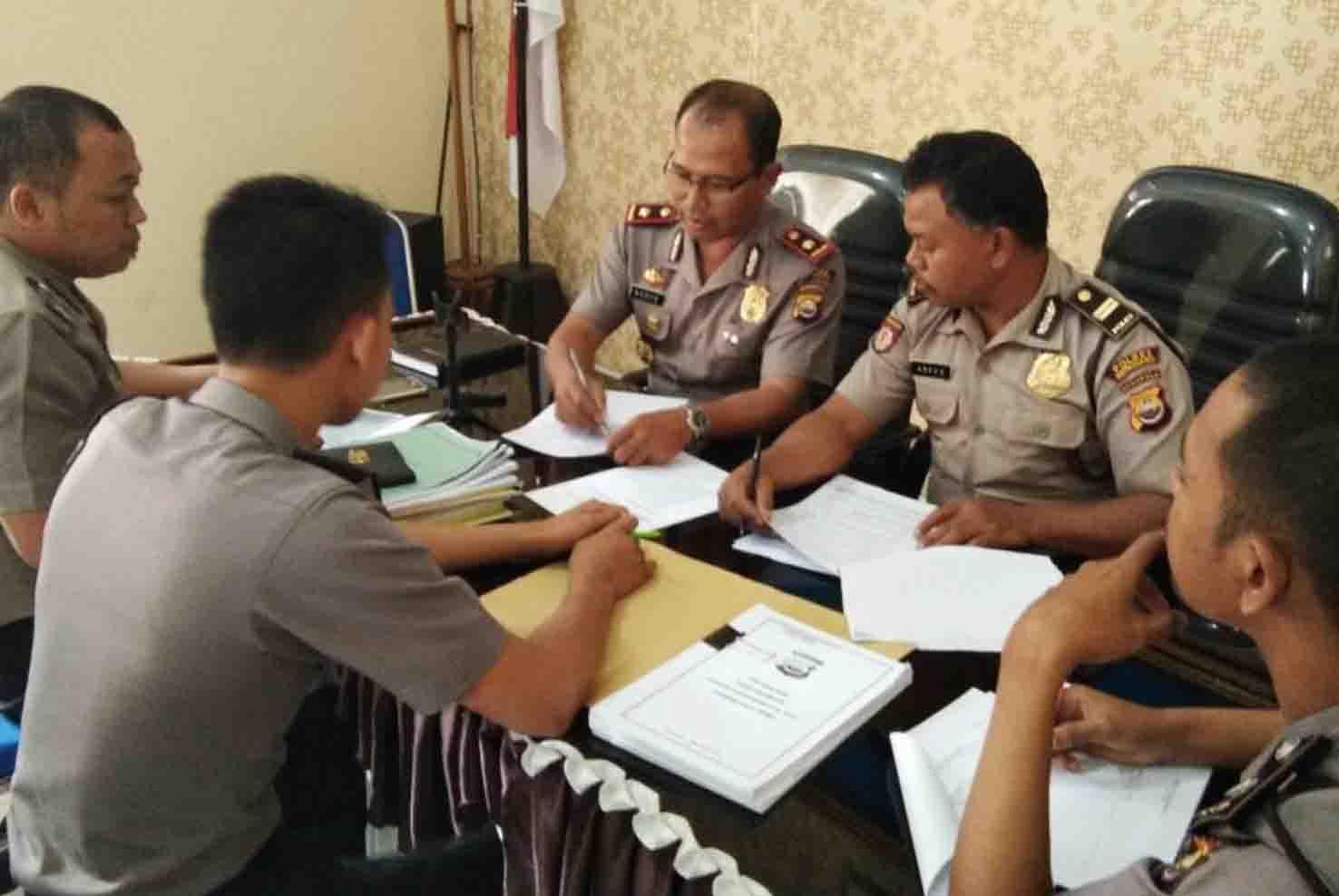 Wakapolres Kepahiang Pimpin Rapat Persiapan Wasrik Itwasum Polri