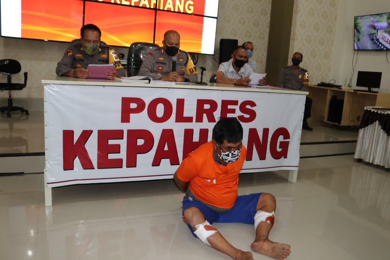 DPO Selama 4 Tahun, Pelaku Curas Ditangkap Polres Kepahiang