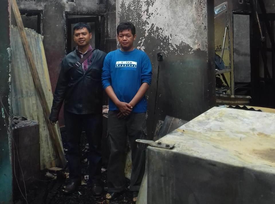 Yayasan Sosial Polres Bengkulu Peduli Siap Bangun Kembali Rumah Aiptu Marjuni