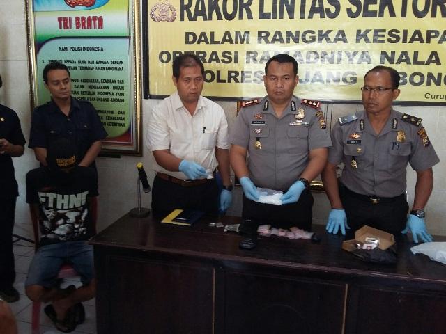 Polisi Temukan BB Senilai Rp 100 Juta