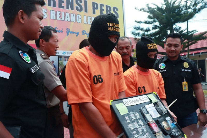 Polres Rejang Lebong Tangkap Bandar Sabu