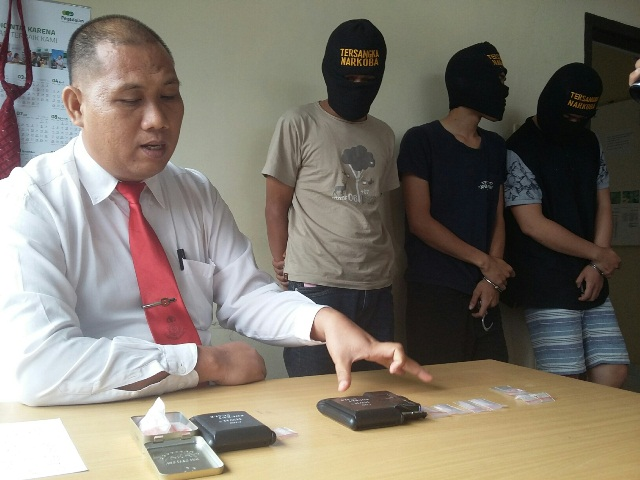 Polisi Bongkar Sindikat Peredaran Narkoba