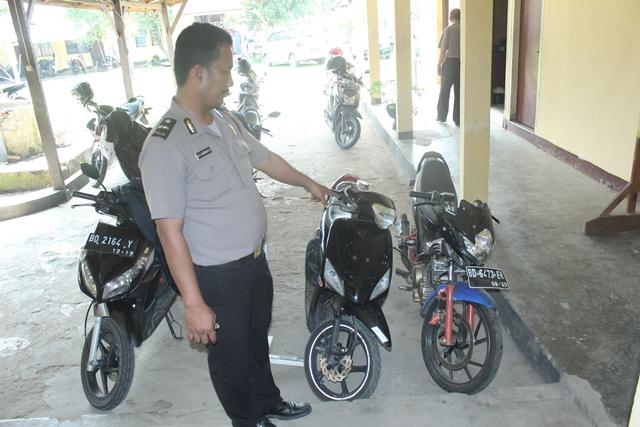 Di Kosan Perampok, Polisi Amankan Motor Mio