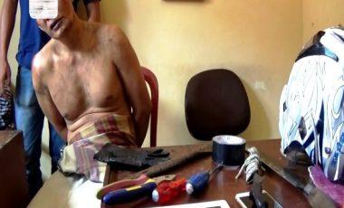 Maling Dirumah Waka DPRD, Duda Diamankan Polisi