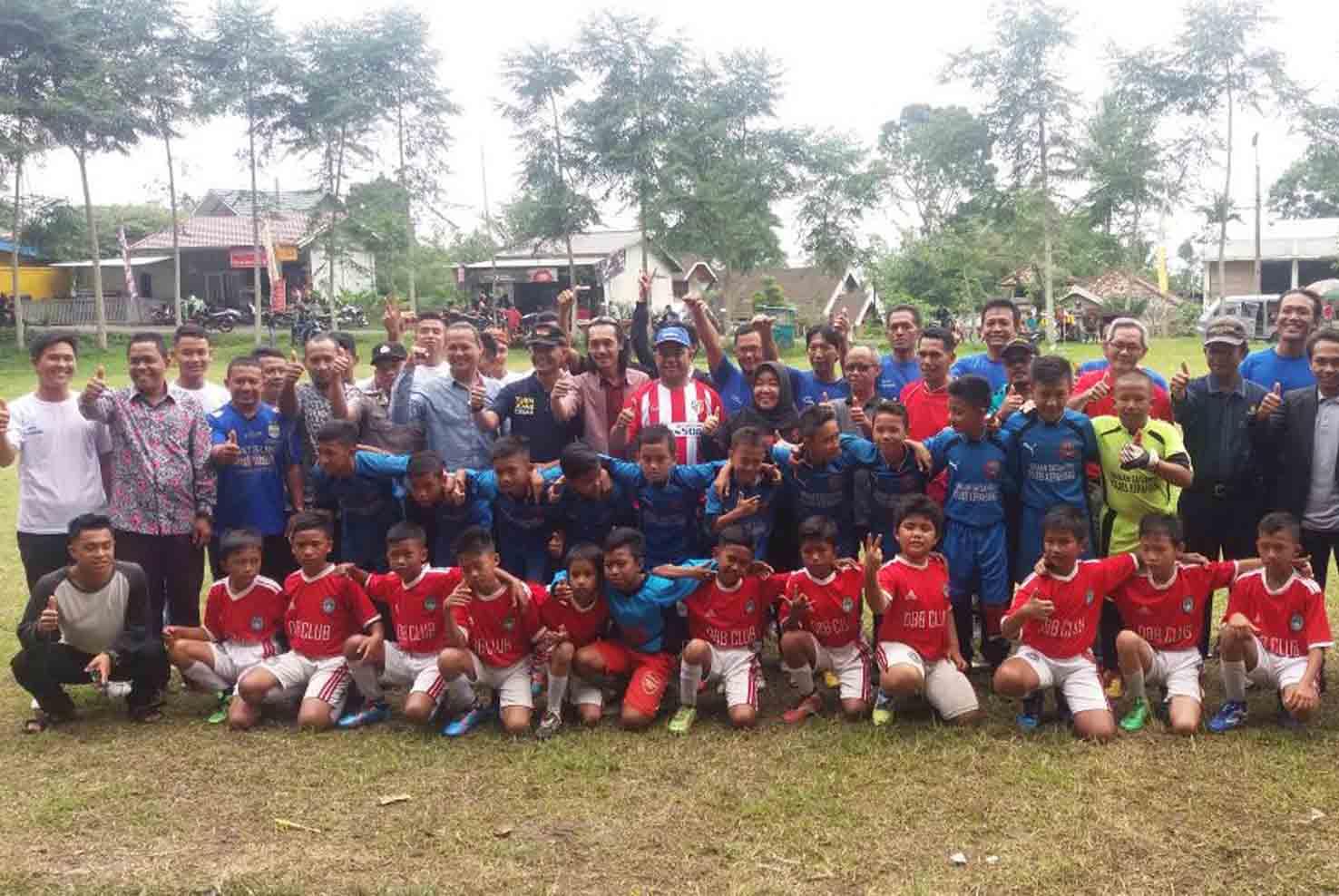Menang Telak Skor 3-0, Tim Sepak Bola Binaan Polres Kepahiang Raih Juara 1