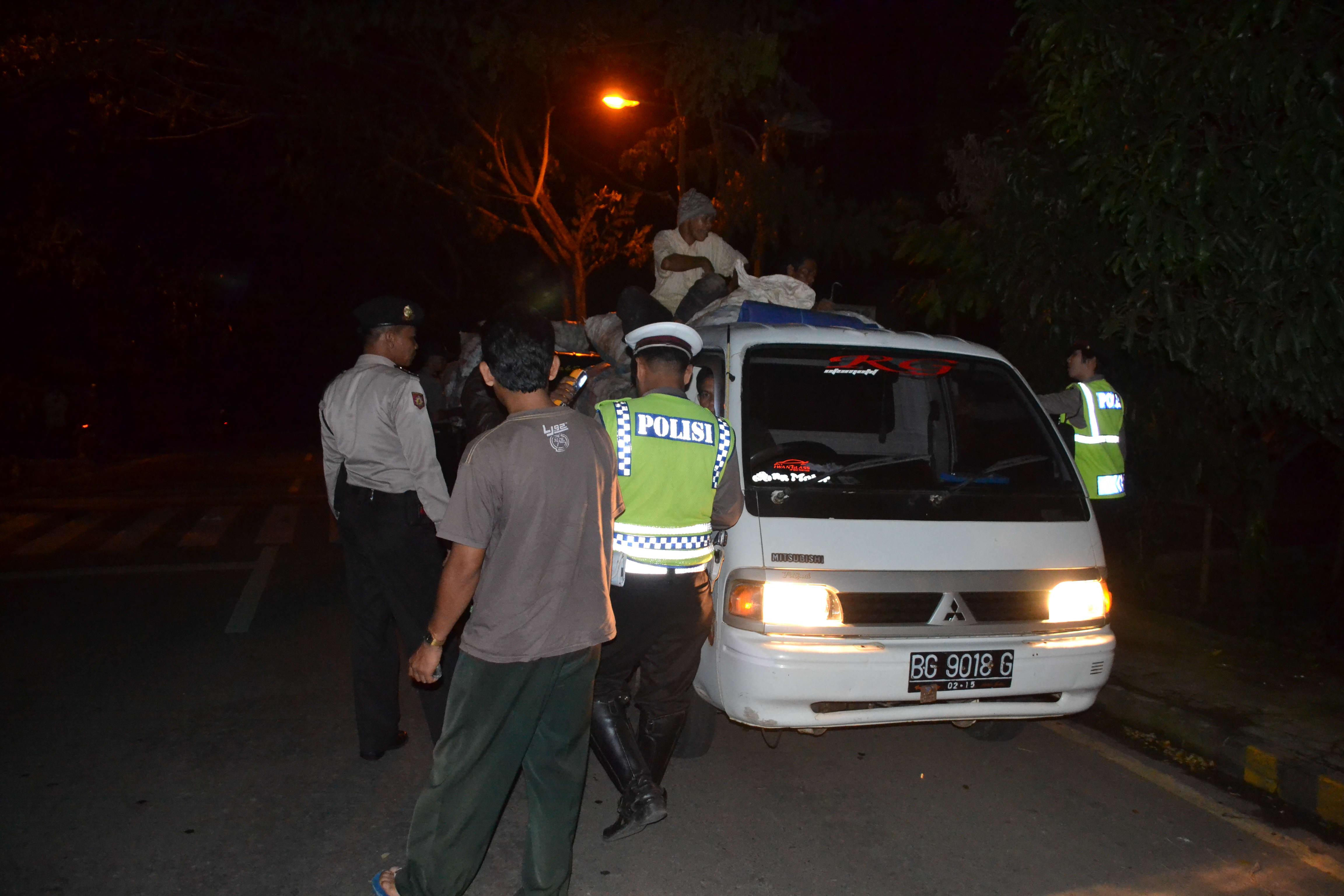 Minimalisir Kriminalitas, Polres Kepahiang Gencarkan Operasi Cipkon dan Strong Point  Malam Hari