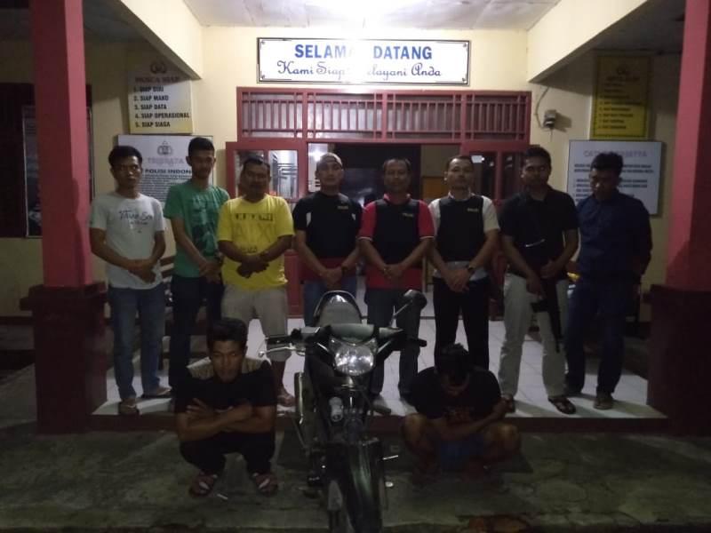 Terlibat Curanmor, Petani Curup Ditangkap Polisi