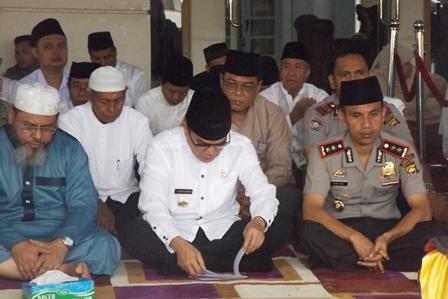 Polres dan Pemda Gelar Tabligh Akbar Bersama Ustad Kondang