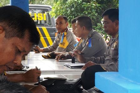 Siaga Operasi Lilin Nala, Kapolres Perintahkan Anggota Selalu Siaga dan Waspada