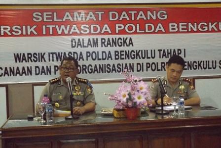 Irwasda Pimpin Wasrik di Bengkulu Selatan