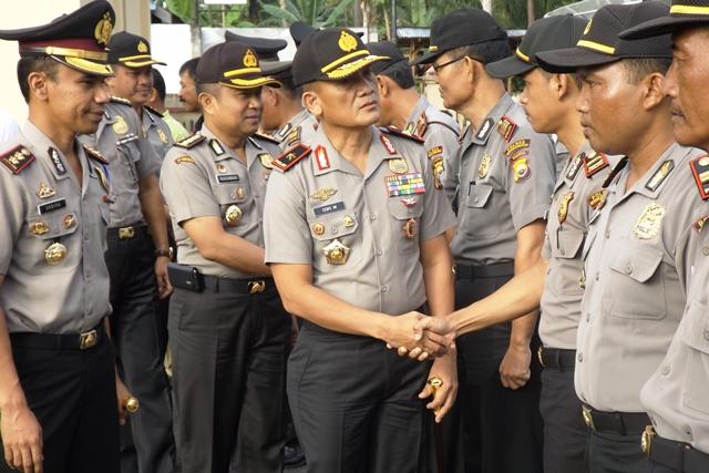 Ini Penekanan Kapolda Saat Kunjungi Polres Bengkulu Selatan
