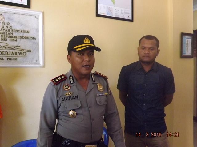 Polres Bengkulu Tangkap 5 Pelaku Pembunuhan