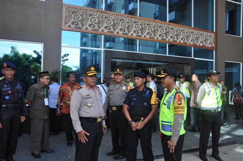 Pengamanan Pleno Propinsi Berjalan Lancar