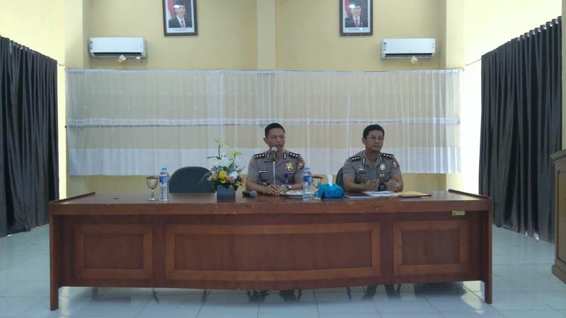 ECT SDM Mabes Polri di Polda Bengkulu