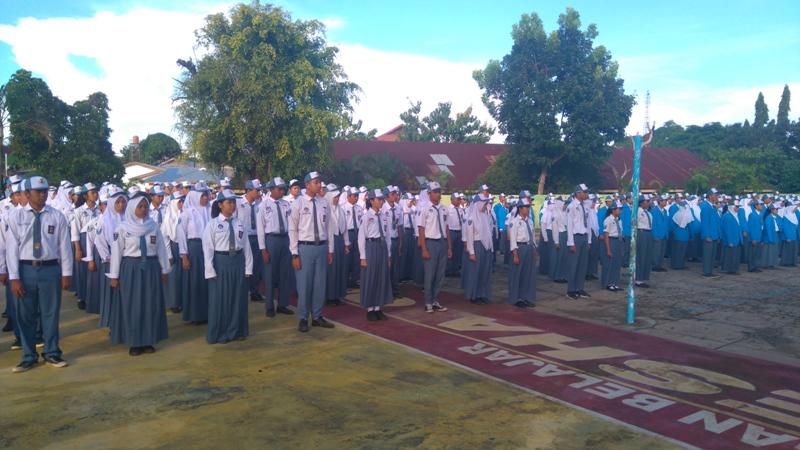 Irup di SMAN 2, Kapolda : Masuk Polisi Tidak Dipungut Biaya!!!!