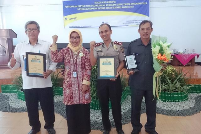 Polres Bengkulu Selatan Raih Predikat Satker Terbaik Dari KPPN