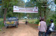Pencegahan Covid-19, Polres Mukomuko Pasang Spanduk Penutupan Lokasi Wisata