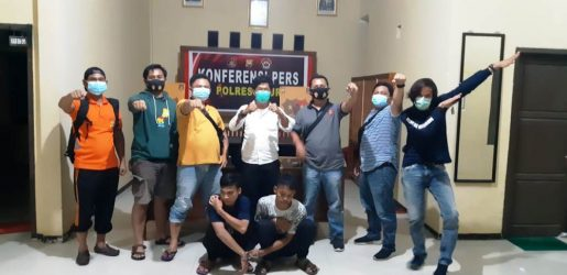Curi HP, 2 Pemuda Ditangkap Polres Kaur