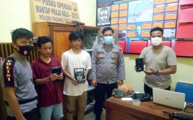 Curi 19 Unit Tablet Sekolah, 2 Pemuda Ditangkap Polisi