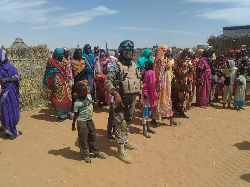 PERSONIL POLDA PERKUAT PASUKAN PBB DI SUDAN