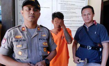 Bobol Depot Bunga, Pemuda Asal Lampung diamankan Polisi