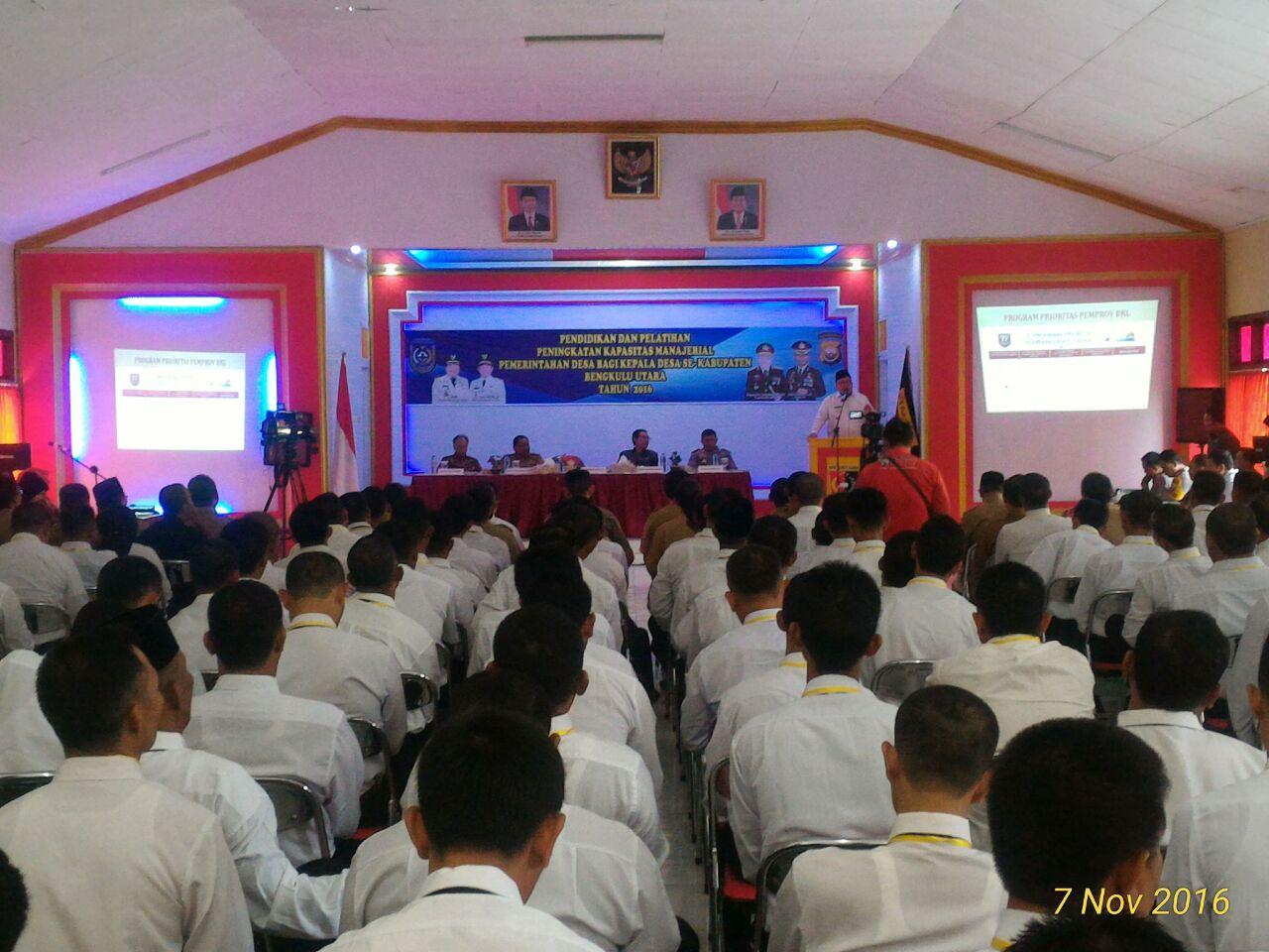 180 Kades Se – BU Pelatihan di SPN Bukit Kaba