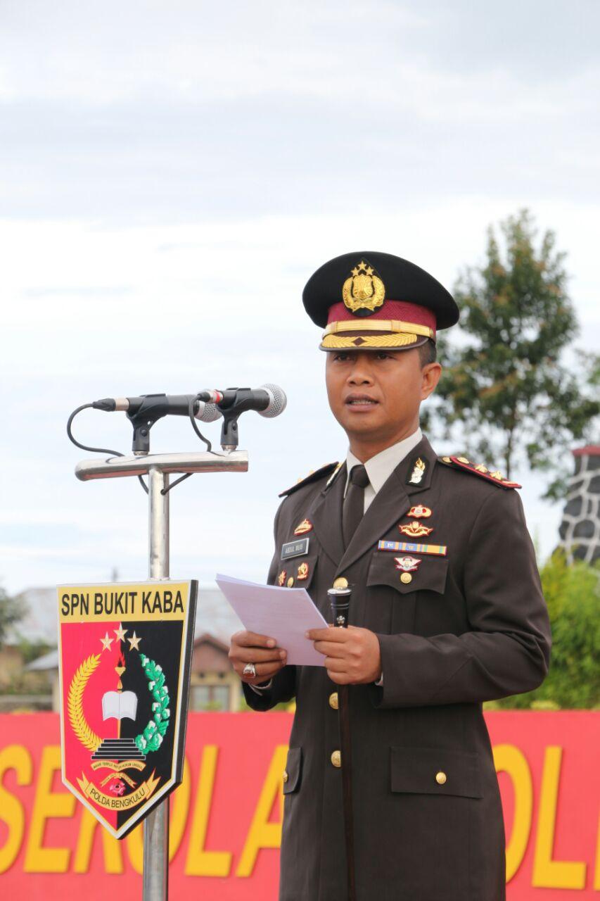 Nama Kabupaten Di jadikan Nama Gedung Di SPN Bukit Kaba