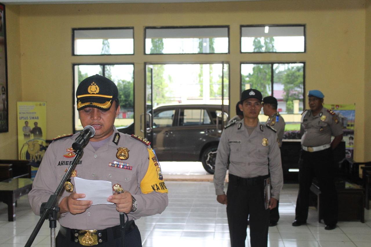 19 Personil Polres Bengkulu Utara, Naik Pangkat Setingkat Lebih Tinggi