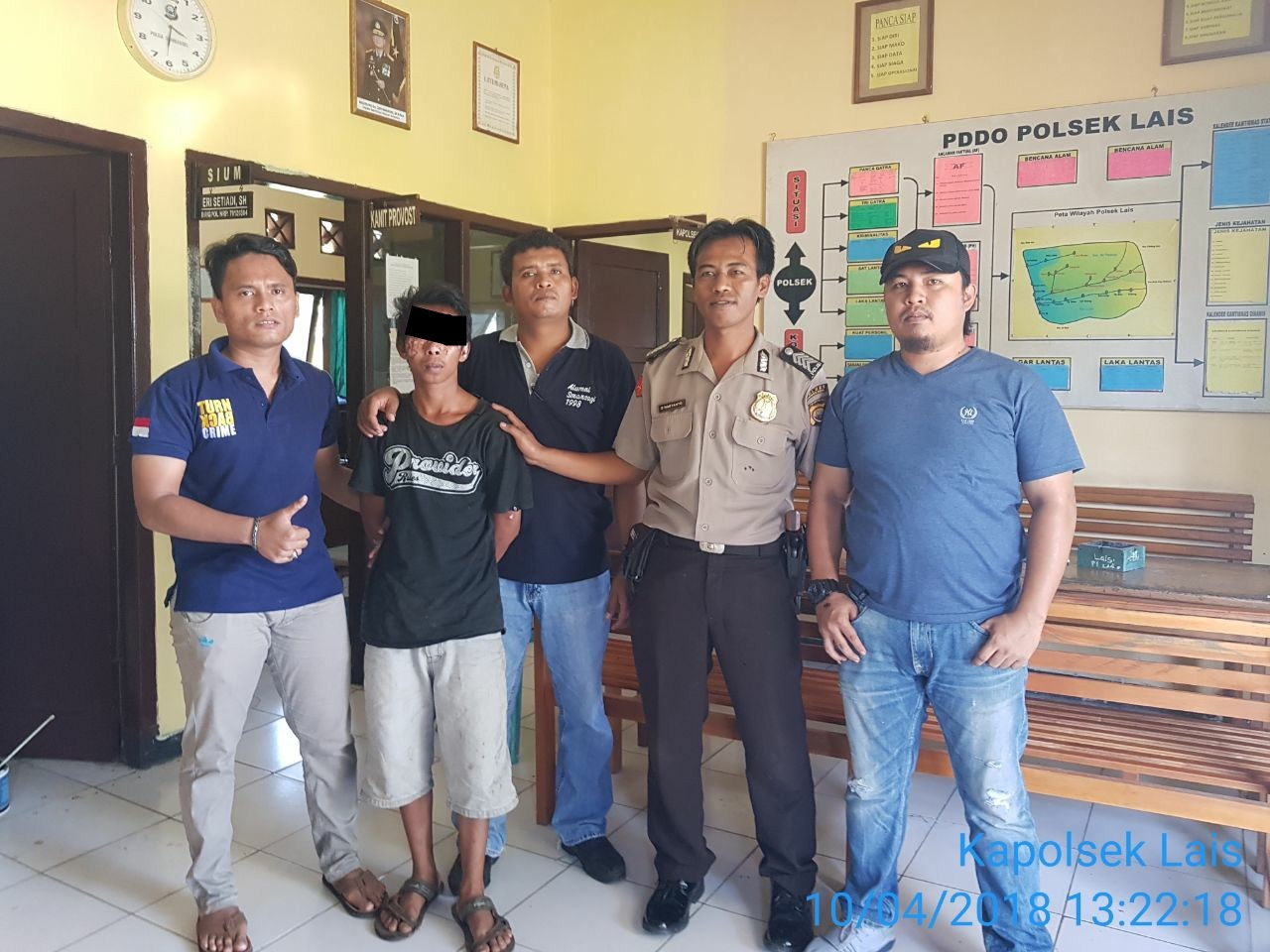 Curanmor di Dusun Raja Dibekuk Polsek Lais