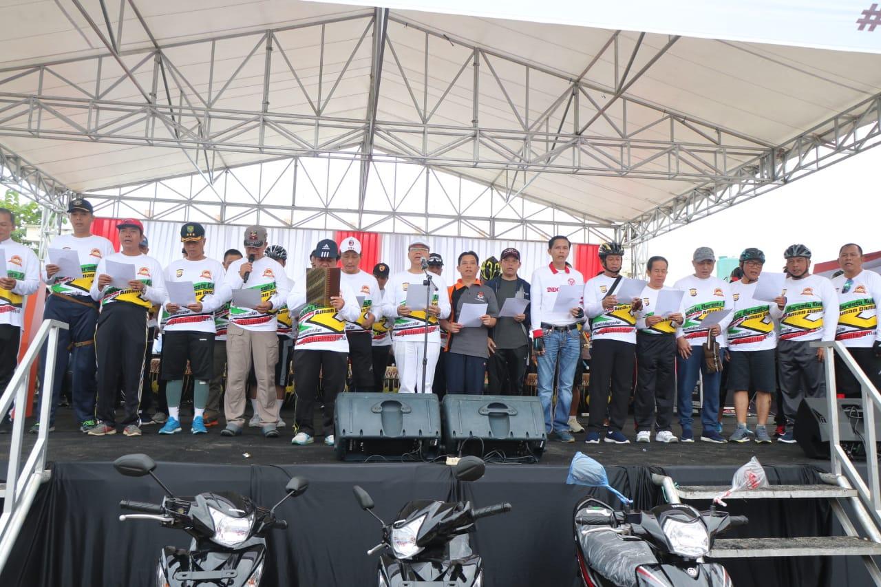 Masyarakat Provinsi Bengkulu Deklarasi Tolak Kerusuhan