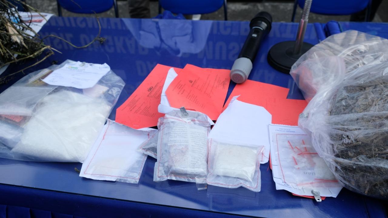Ditresnarkoba Polda Bengkulu Temukan Paket Sabu dan Ganja